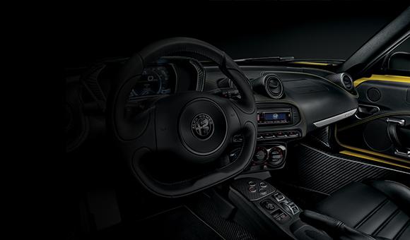 The Alfa 4C Spider Technology