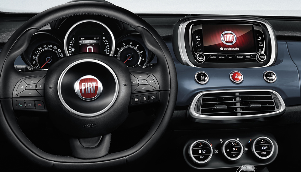 The Fiat 500X Technology