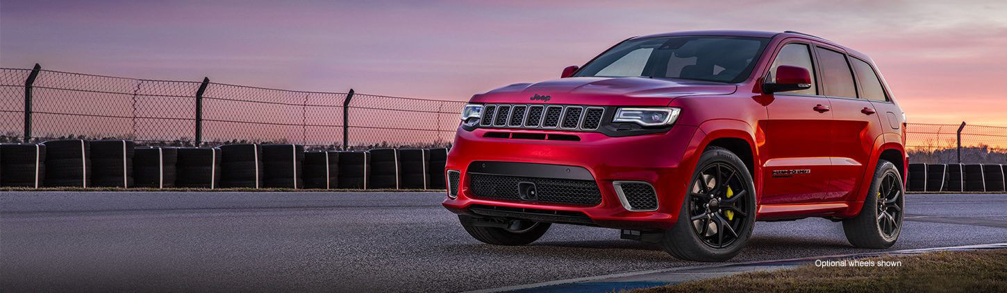 The Jeep Grand Cherokee Trackhawk Exterior